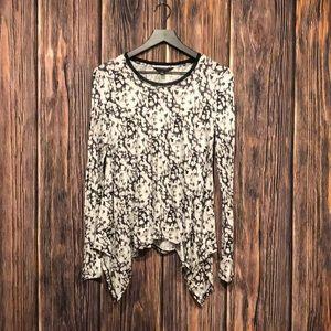 Long sleeve blouse Vera Wang Simply Vera